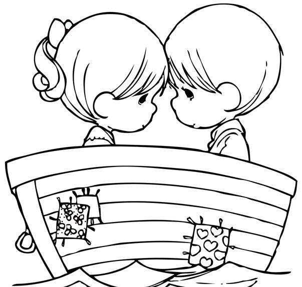 Desenhos Para Imprimir De Amor