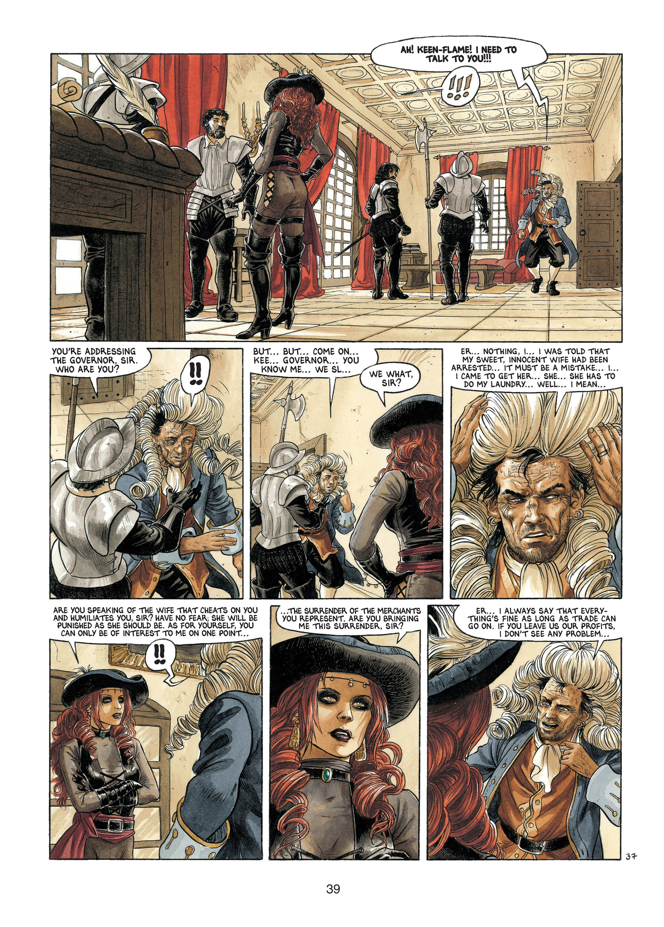 Read online Barracuda comic -  Issue #4 - 40