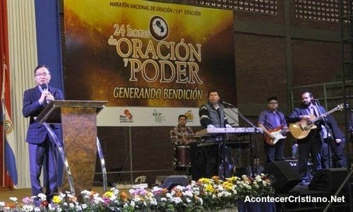 Realizan jornada nacional de oración en Paraguay