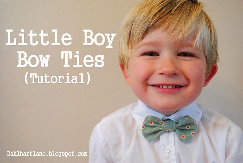 Dahlhart Lane: Little Boy Bowties