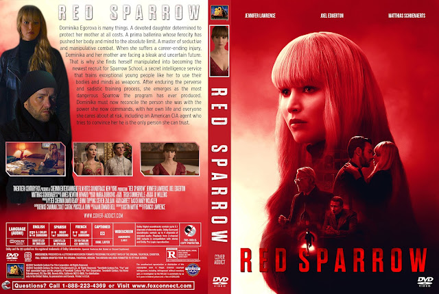 Red Sparrow DVD Cover