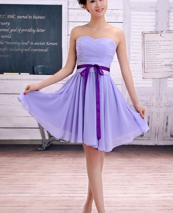 Chic Bridesmaid Dress: Lavender Purple Bridesmaid Dresses