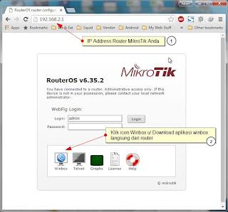 Download Langsung Dari Router MikroTik