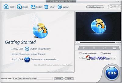 WinX DVD Ripper Platinum 8.5.1.192 Full Version