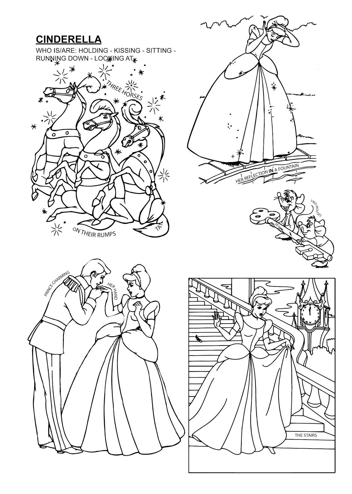 Cinderella Charming Kissing Prince And 12