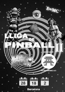 II Lliga PinballProject-Retromaniacs de Barcelona