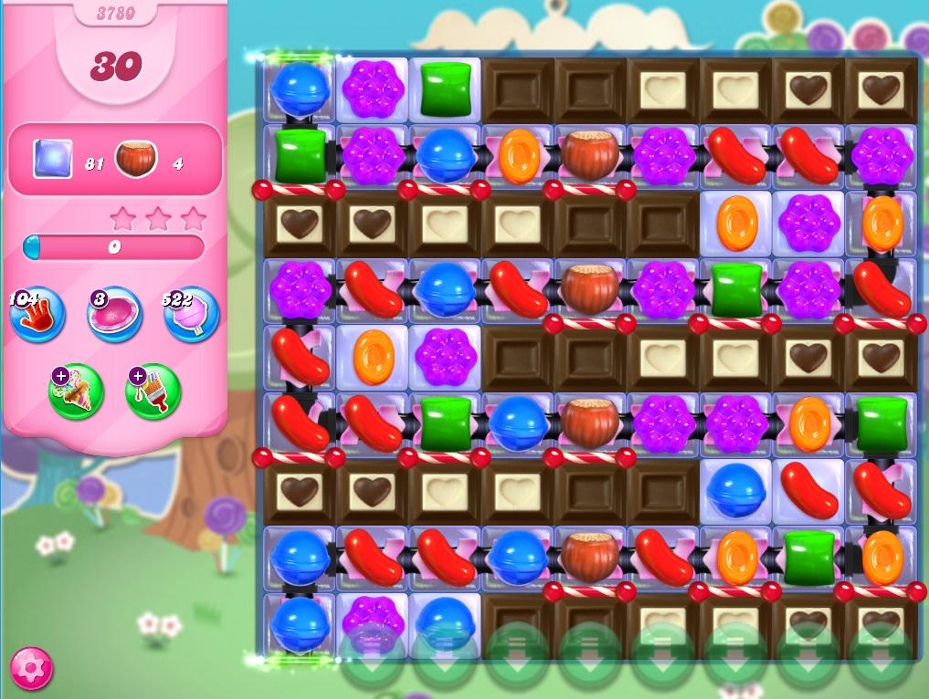 Candy Crush Saga level 3780