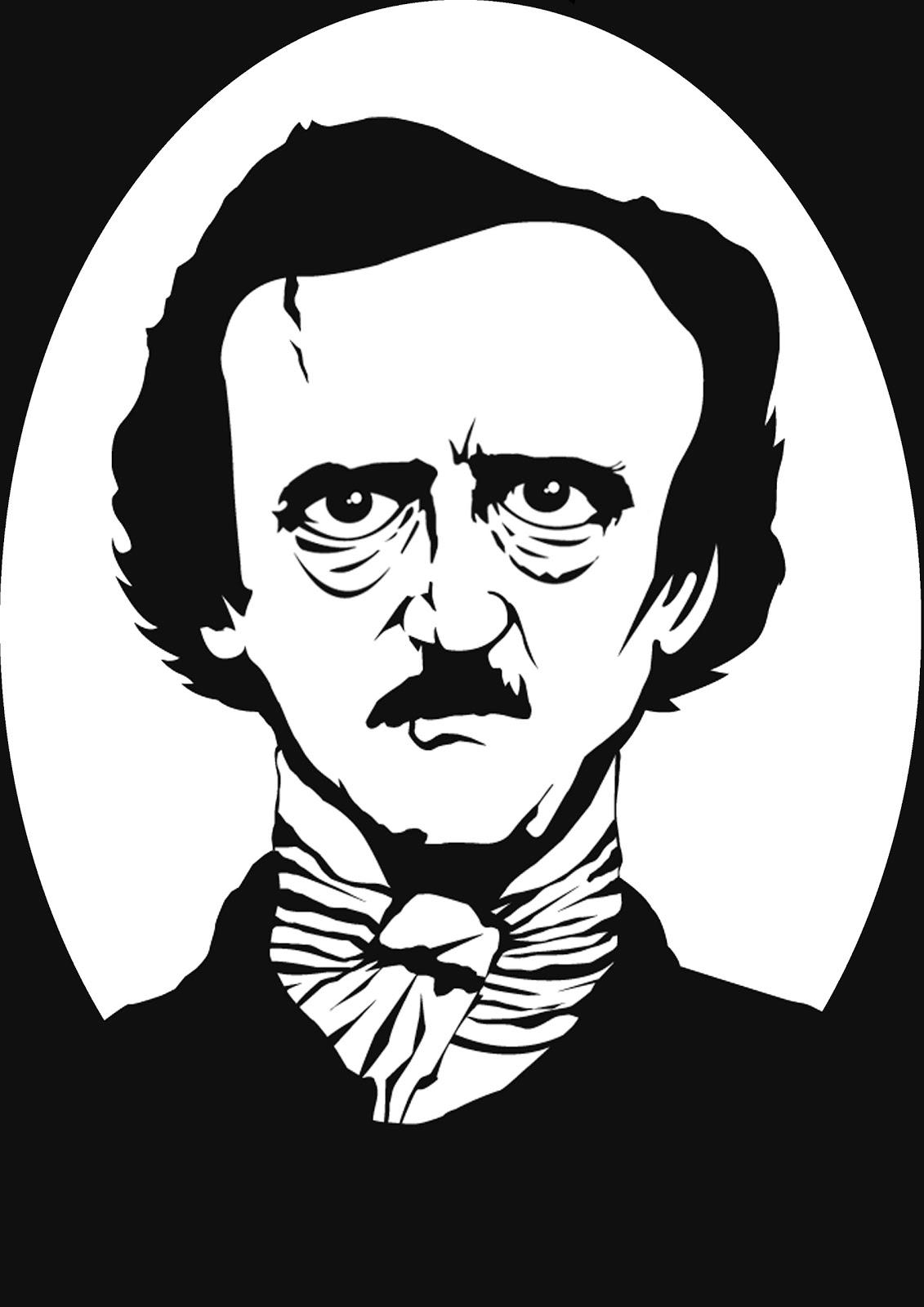 Adam Dyson Edgar Allan Poe Vector By Adam Dyson