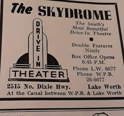 Lake Worth Beach City Limits The South S Most Beautiful Drive In Theatre Double Features Nitely
