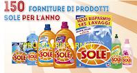Logo Con Sole detersivi vinci forniture di prodotti, palloni Rugby e Robot da cucina