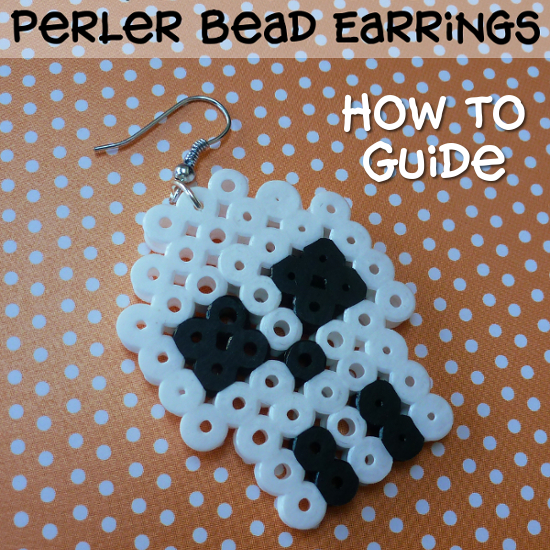 How to Make Perler Bead Earrings: Full Instructions for Fused Beads Including Hama