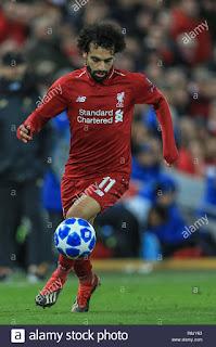 Super Eagles striker beats Mohamed Salah to award