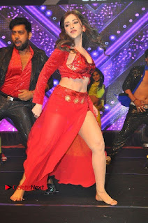 Telugu Actress Angela Krislinzki Spicy Dance Performance in Red Dress at Rogue Audio Launch 13 March 2017  0021.jpg