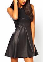 Fall Layering Sleeveless Fit Amp Flare Dress Silk Blouse