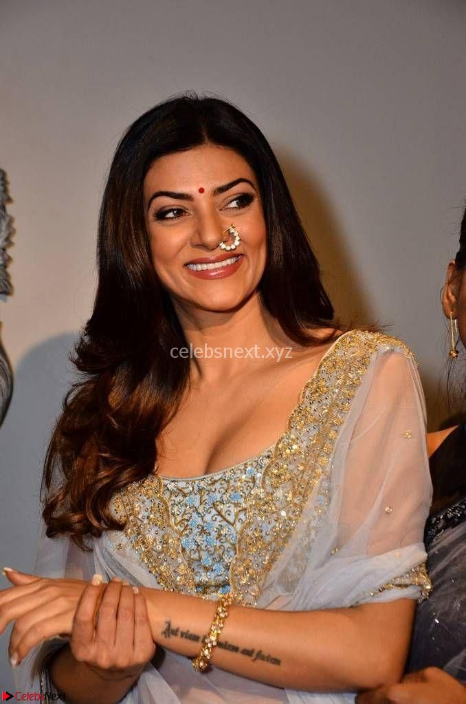 Sushmita Sen in ethnic attire at launch of Sashi Vangapalli Designer Store Launch ~ CelebsNext Exclusive Celebrities Gallerie