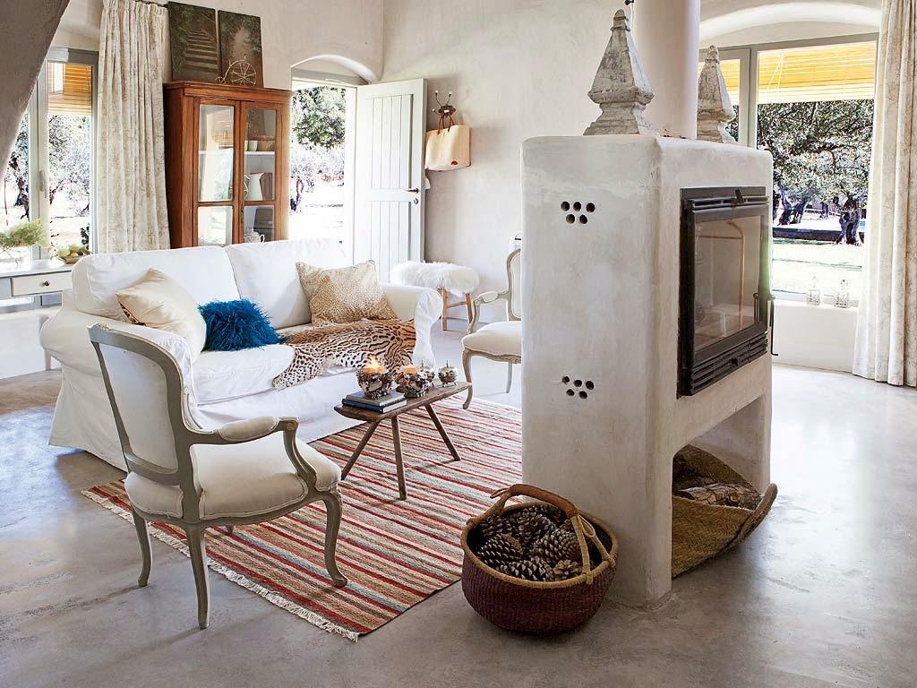 El blog de demarques decoracion provenzal en una casa de - Adornos para casas ...