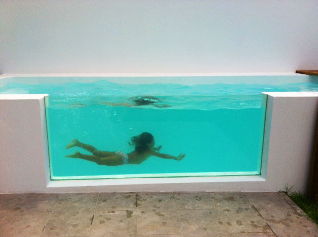 Ideas robadas y otras no piscinas para espacios peque os for Piscinas pequenas para casas con poco espacio