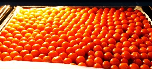 jak suszyć pomidory koktajlowe w piekarniku?