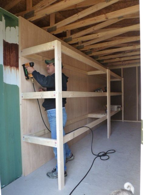 Mike and Lisa's World: Chapter 130...How To Build Mega Shelves