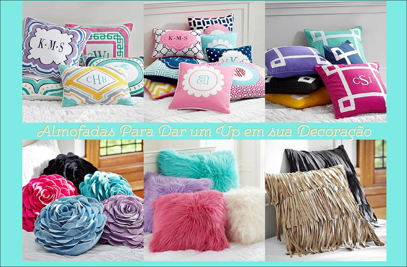 almofadas para quarto