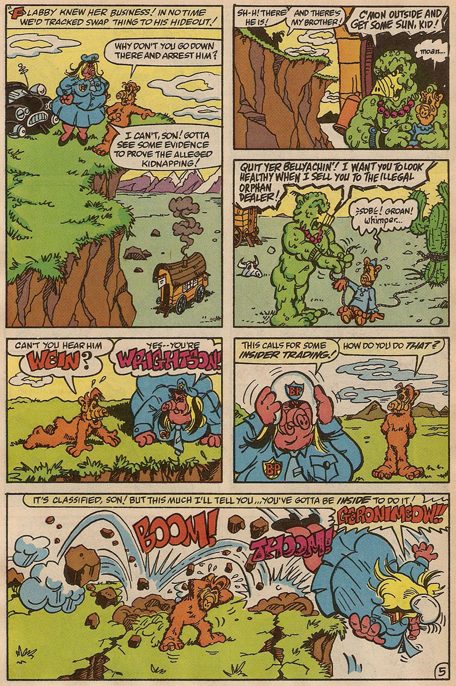 Read online ALF comic -  Issue #37 - 28