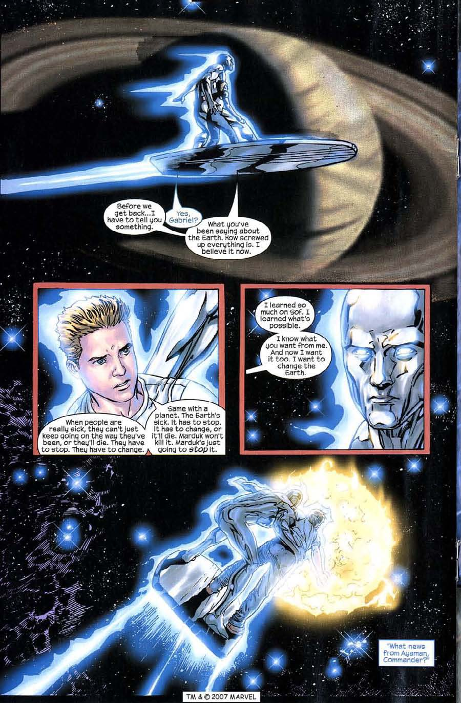 Read online Silver Surfer (2003) comic -  Issue #9 - 18