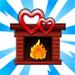 viral Valentine Day fireplace75x75 - Materiais CityVille: O evento do dia dos Namorados