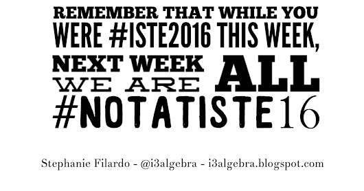 ISTE 2016: A Reflection