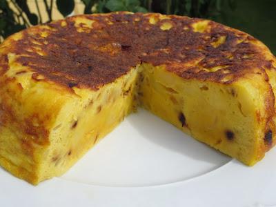 Tortilla de patatas casi sin aceite olla GM
