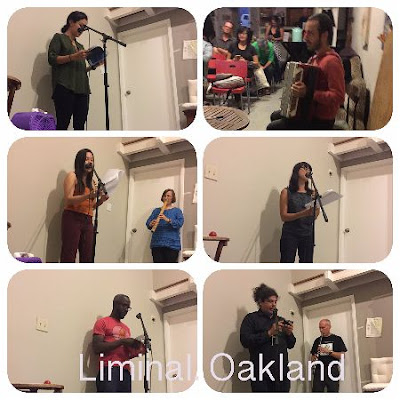 liminal, womanist and feminist writing space. oakland. california