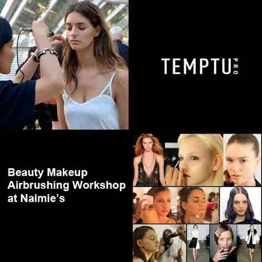 Temptu Airbrush Beauty Makeup at Naimie's Beauty Center