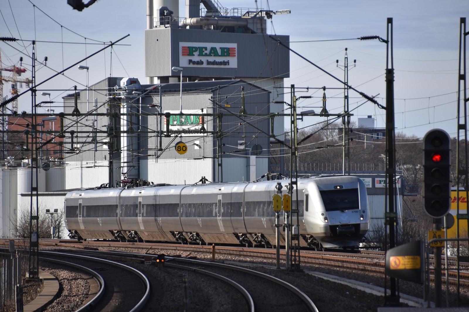 tåg norrköping västerås