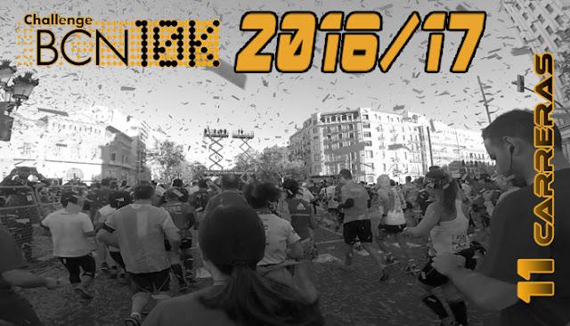 ChallengeBCN10K 2016/17 - 11 carreras