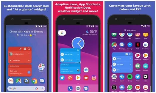 Download Action Launcher 3 Plus Oreo + Pixel Terbaru for Android