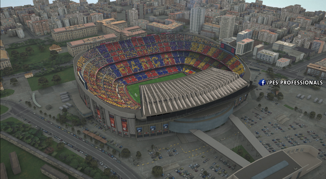 Camp nou Stadium PES Profesisonals Patch V1