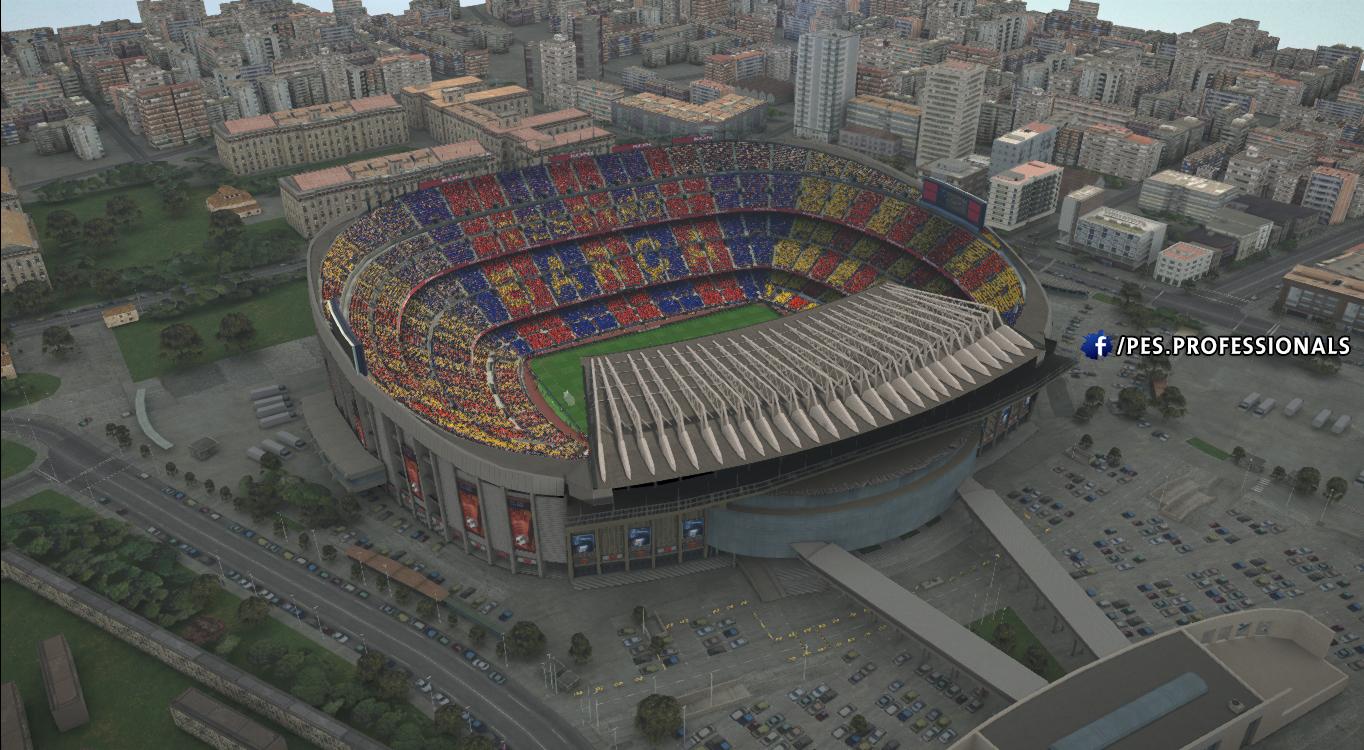 Camp nou Stadium PES Profesisonals Patch V1