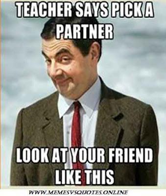 Teacher says pick a partner