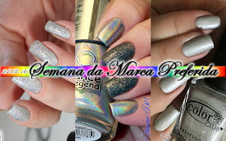 Alê M., Alquimia das Cores, Cebella, Color Club, Dance Legend, Glory, Holográfico, homa mani, Marca Preferida, Military Collection, Mony D07, New Prism, Silver, T1000, Whatcha Indie, Worth The Risque, Coletivo,