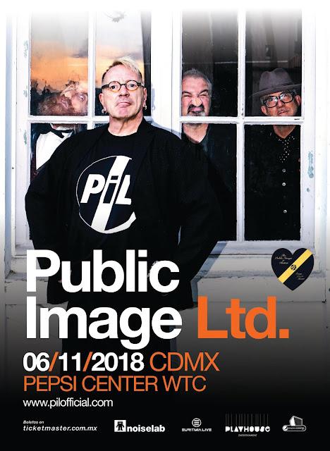 PUBLIC IMAGE LTD. VIENE A MÉXICO