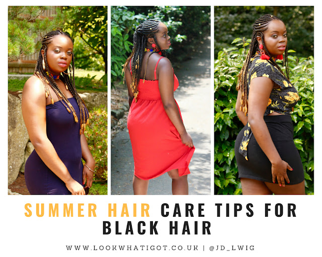 SUMMER HAIR TIPS FOR BLACK HAIR