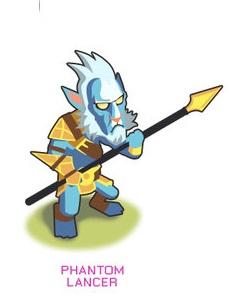 Hero Dota 2 Phantom Lancer
