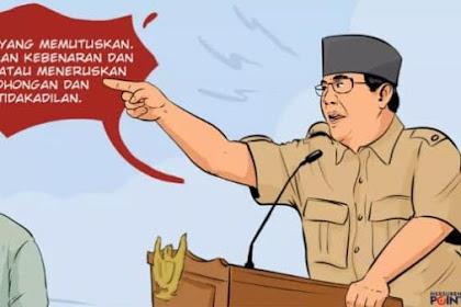 Perlawanan dan Surat Wasiat Prabowo