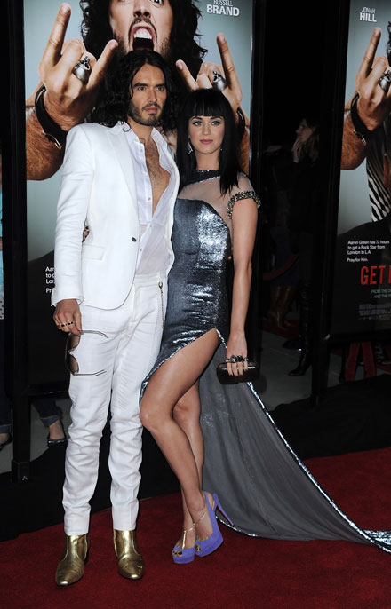 Katy Perry Katy Perry And Russellbrand Wedding