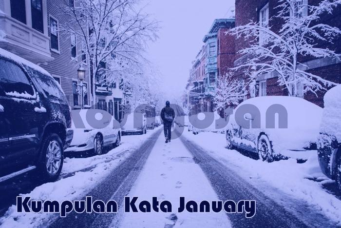 kumpulan kata januari