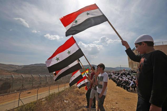 الخارجية الكون بأسره لا يستطيع تغيير الحقيقة التاريخية بأن الجولان كان وسيبقى سورياً