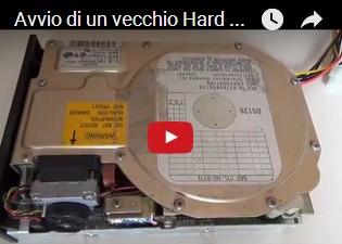Avvio di un vecchio Hard Disk da 20 MB del 1988