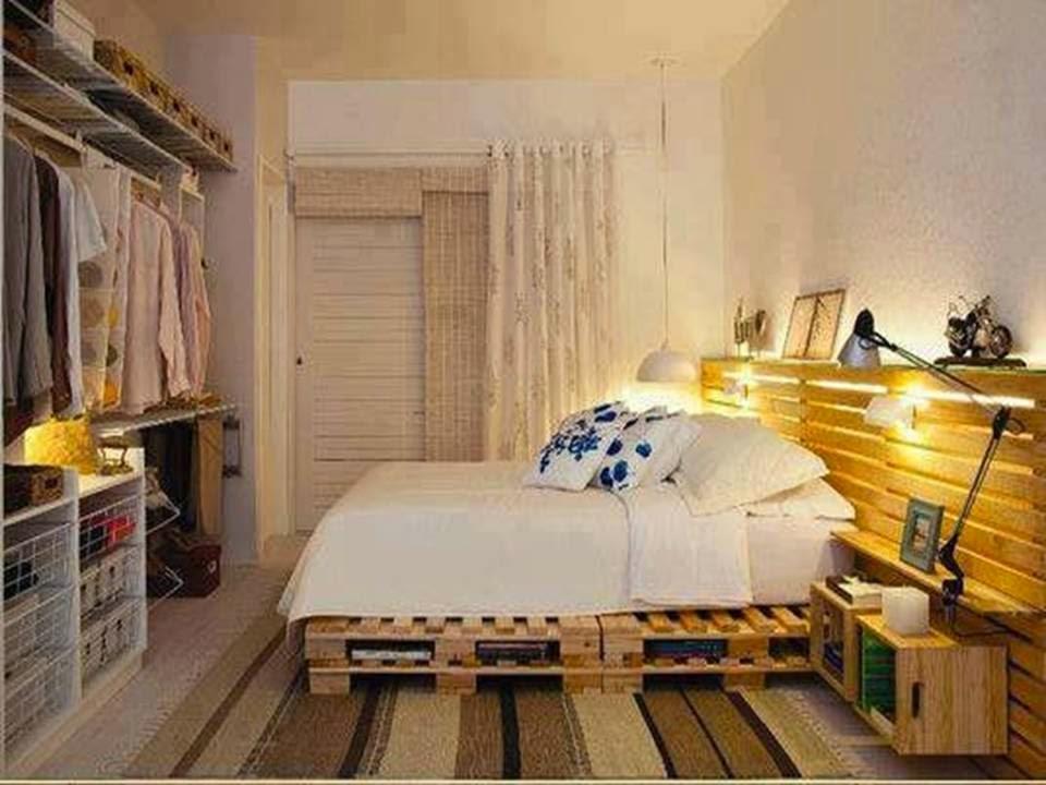 10 Colorful Led Light Pallet Bed Ideas - Home Decor