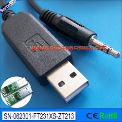 FT231X UART USB Driver Windows 64-Bit
