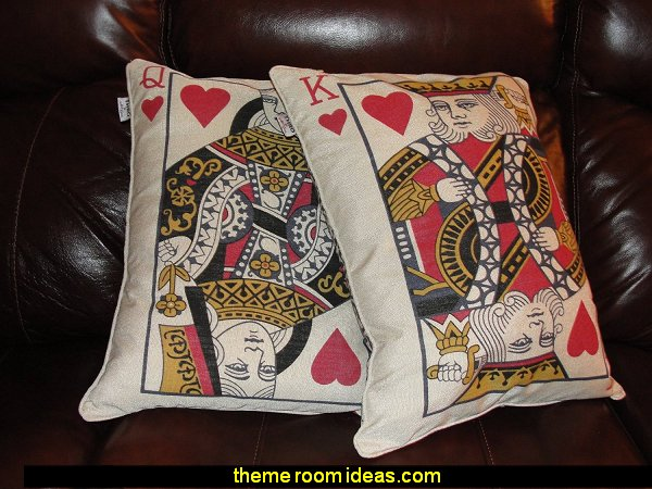 King or Queen Card Oblong Decorative Pillow