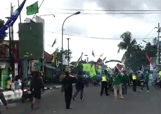 Bentrok! Dua Laskar Partai Pendukung PDIP dan PPP di Yogyakarta Masih Memanas